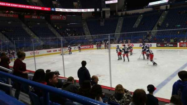 XL Center, section: 116, row: G, seat: 9