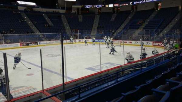 XL Center, section: 115, row: J, seat: 15