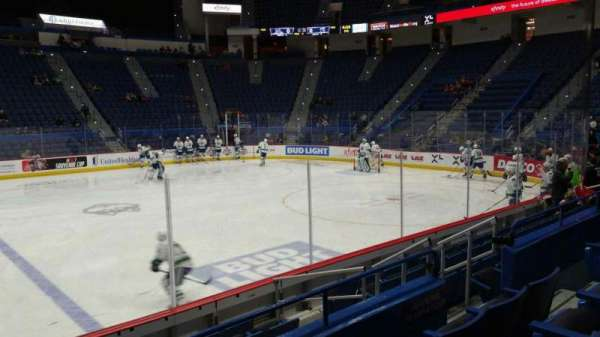 XL Center, section: 115, row: J, seat: 8