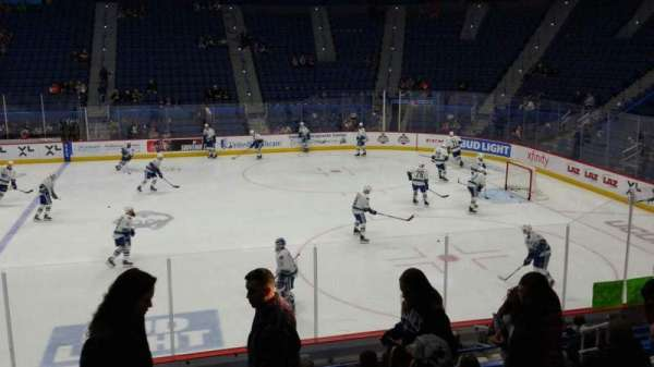 XL Center, section: 114, row: R, seat: 10