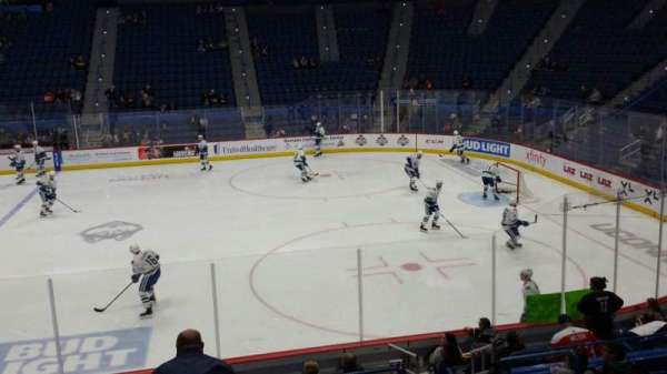 XL Center, section: 114, row: R, seat: 5