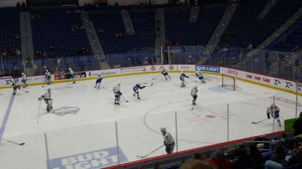 XL Center, section: 114, row: R, seat: 15