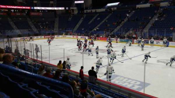 XL Center, section: 113, row: M, seat: 17