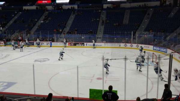 XL Center, section: 113, row: M, seat: 11