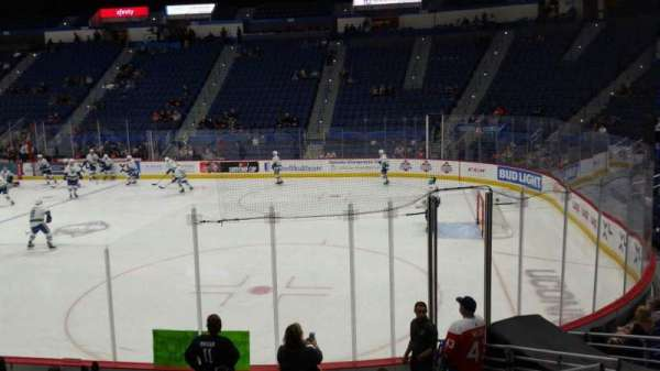 XL Center, section: 113, row: M, seat: 6