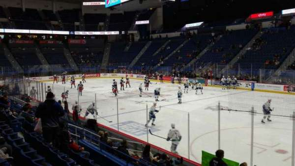 XL Center, section: 113, row: M, seat: 1