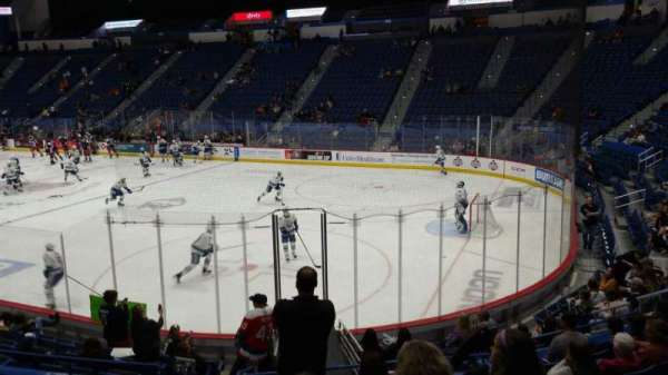 XL Center, section: 112, row: P, seat: 16