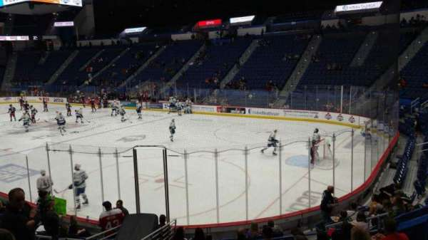 XL Center, section: 112, row: P, seat: 10
