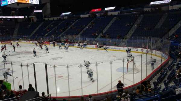 XL Center, section: 112, row: P, seat: 5