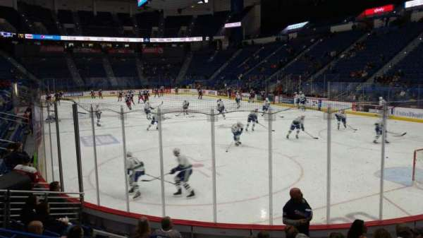 XL Center, section: 111, row: K, seat: 13