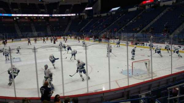 XL Center, section: 111, row: K, seat: 6