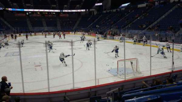 XL Center, section: 111, row: K, seat: 1