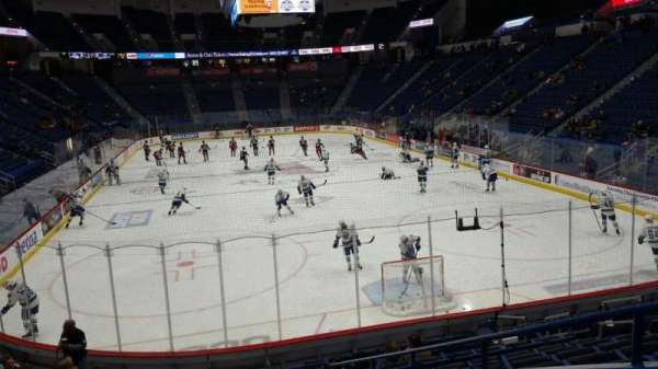 XL Center, section: 110, row: R, seat: 11