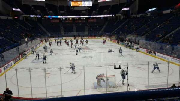XL Center, section: 110, row: R, seat: 7