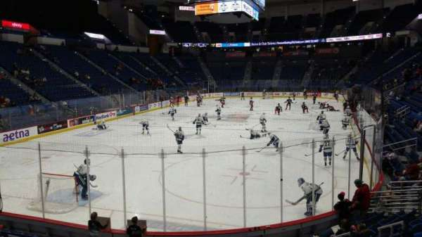 XL Center, section: 108, row: N, seat: 9