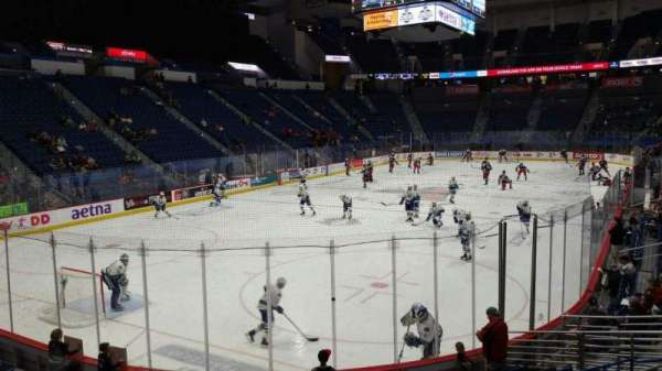 XL Center, section: 108, row: N, seat: 1