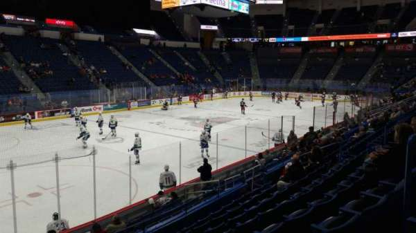 XL Center, section: 106, row: P, seat: 17