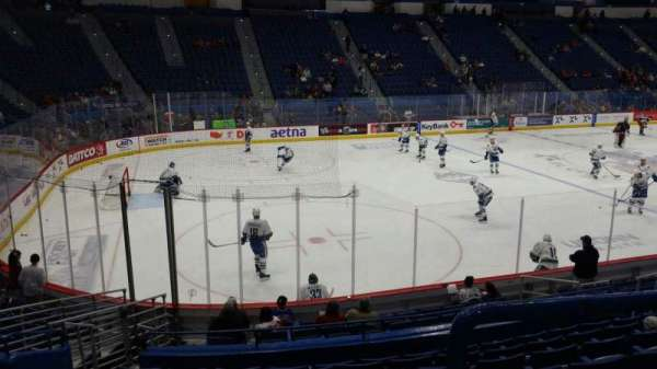 XL Center, section: 106, row: P, seat: 12