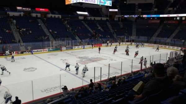 XL Center, section: 106, row: T, seat: 1