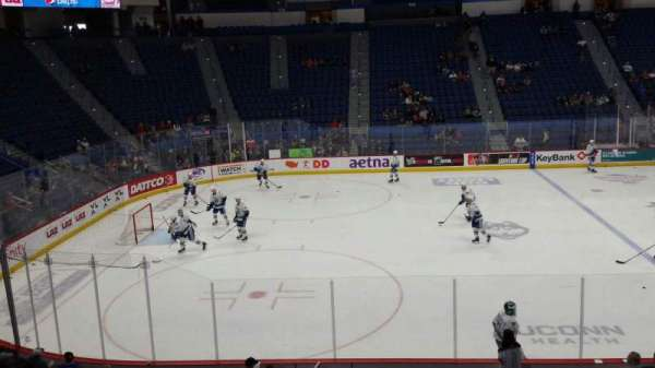 XL Center, section: 105, row: T, seat: 15