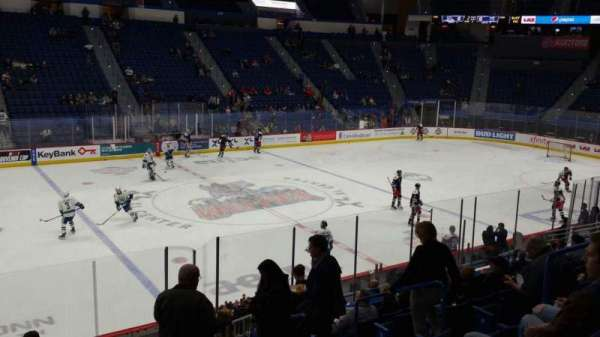 XL Center, section: 105, row: T, seat: 8