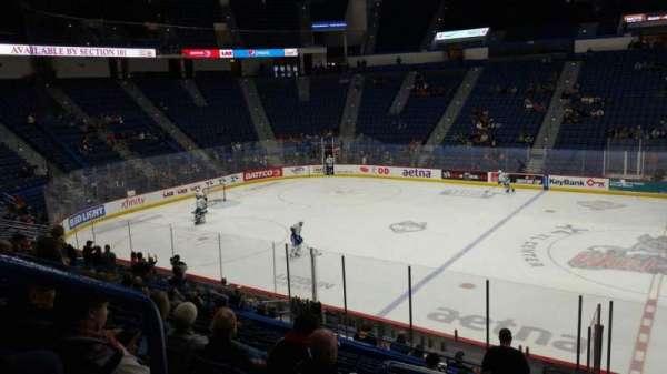 XL Center, section: 103, row: U, seat: 15