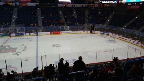 XL Center, section: 103, row: U, seat: 1