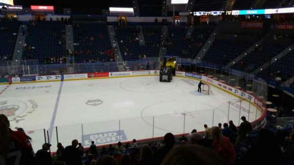 XL Center, section: 102, row: X, seat: 15