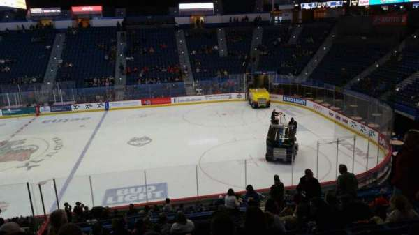 XL Center, section: 102, row: X, seat: 8