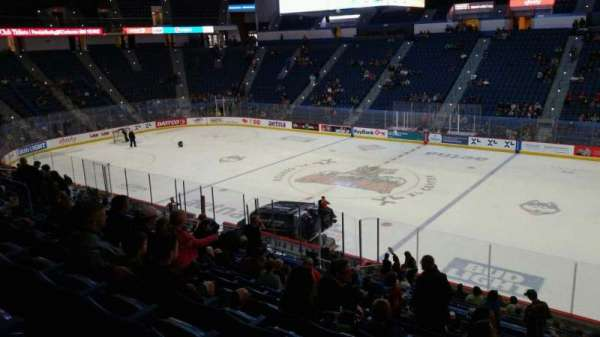 XL Center, section: 102, row: X, seat: 1