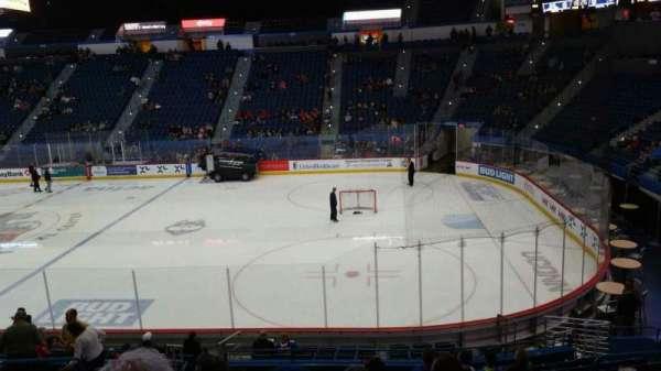 XL Center, section: 101, row: U, seat: 15