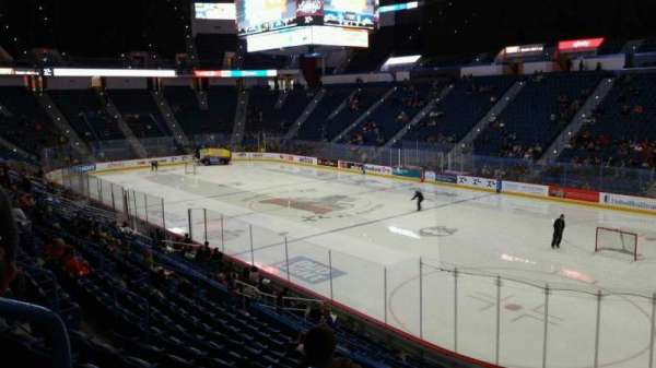 XL Center, section: 124, row: U, seat: 18