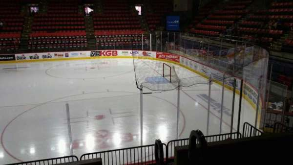 Floyd L. Maines Veterans Memorial Arena, section: 13, row: D, seat: 1
