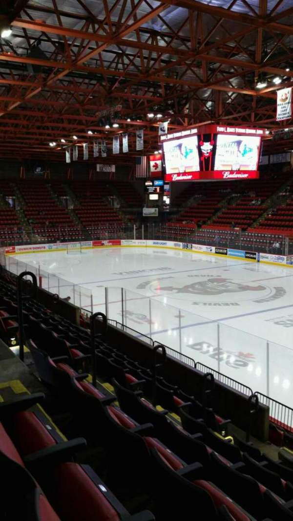 Floyd L. Maines Veterans Memorial Arena, section: 12, row: G, seat: 5