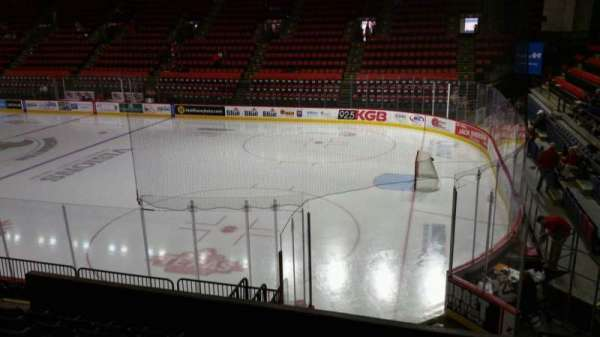 Floyd L. Maines Veterans Memorial Arena, section: 12, row: G, seat: 1