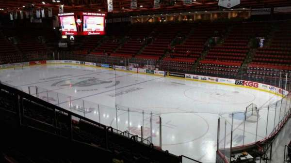 Floyd L. Maines Veterans Memorial Arena, section: 11, row: J, seat: 4