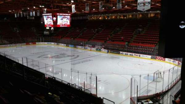 Floyd L. Maines Veterans Memorial Arena, section: 11, row: J, seat: 7
