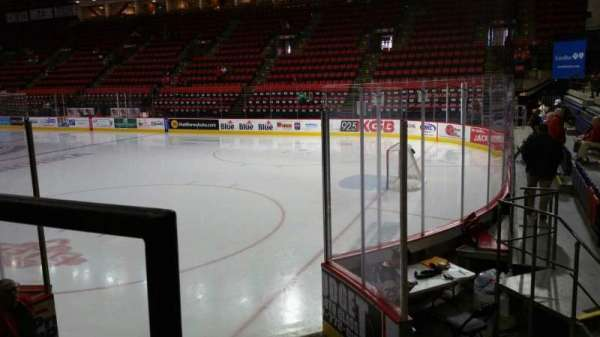 Floyd L. Maines Veterans Memorial Arena, section: 11, row: A, seat: 1