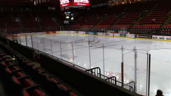 Floyd L. Maines Veterans Memorial Arena, section: 12, row: C, seat: 1