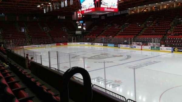 Floyd L. Maines Veterans Memorial Arena, section: 12, row: C, seat: 14
