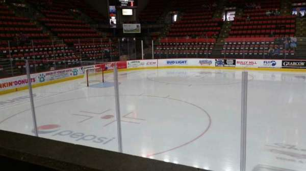 Floyd L. Maines Veterans Memorial Arena, section: 17, row: A, seat: 1