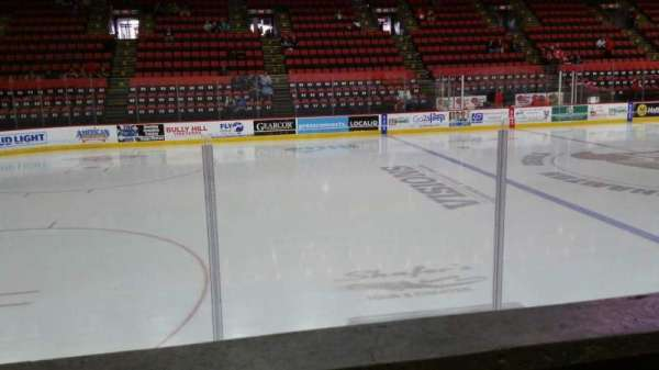 Floyd L. Maines Veterans Memorial Arena, section: 17, row: A, seat: 6