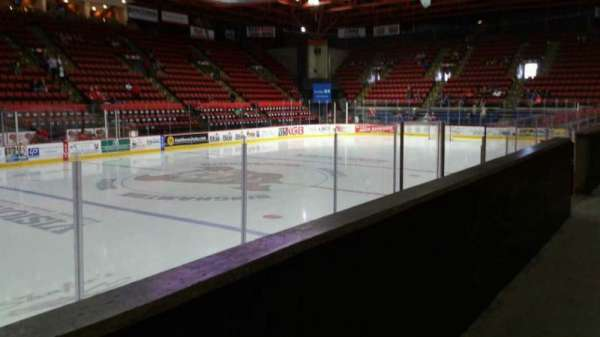 Floyd L. Maines Veterans Memorial Arena, section: 17, row: A, seat: 11