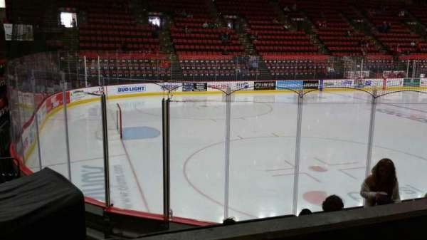 Floyd L. Maines Veterans Memorial Arena, section: 18, row: B, seat: 14