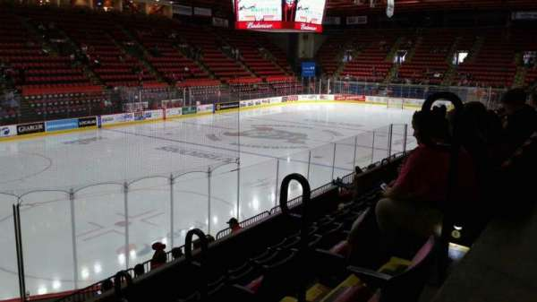 Floyd L. Maines Veterans Memorial Arena, section: 19, row: F, seat: 1