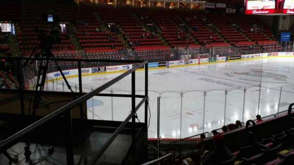 Floyd L. Maines Veterans Memorial Arena, section: 19, row: F, seat: 5