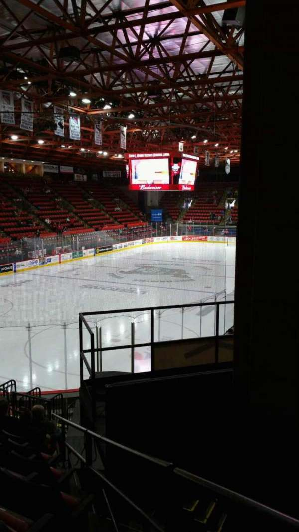 Floyd L. Maines Veterans Memorial Arena, section: 20, row: H, seat: 7