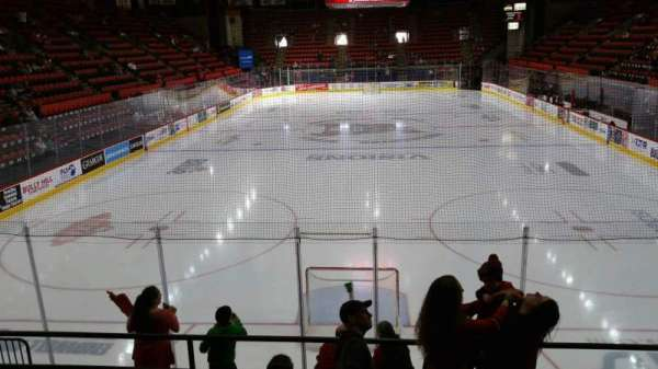Floyd L. Maines Veterans Memorial Arena, section: 22, row: E, seat: 6