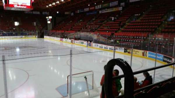 Floyd L. Maines Veterans Memorial Arena, section: 23, row: B, seat: 1
