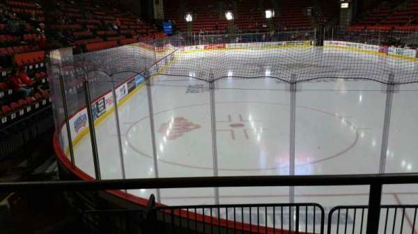 Floyd L. Maines Veterans Memorial Arena, section: 23, row: B, seat: 7
